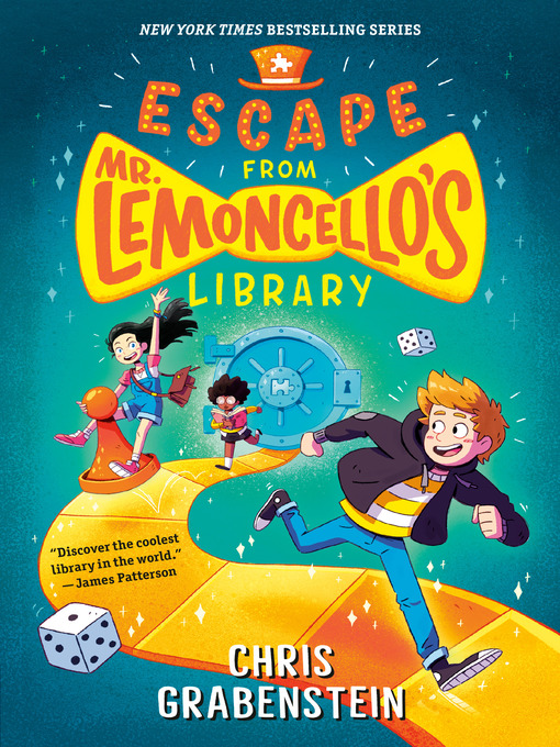Cover of Escape from Mr. Lemoncello's Library